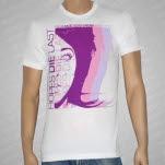 Hopes Die Last Giant Purple Face White T-Shirt