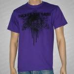 Hopes Die Last Skull Decor Purple T-Shirt