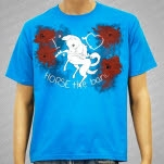 HORSE The Band Horsey Jade Blue T-Shirt
