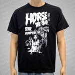 HORSE The Band Werepizza Black T-Shirt