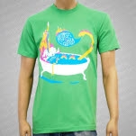 HORSE The Band Bathtub Green XSmall T-Shirt