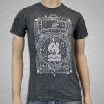 Hot Water Music Americana Tri Grey T-Shirt