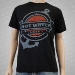 Hot Water Music Anchor Black T-Shirt