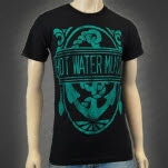 Hot Water Music Anchor Black T-Shirt