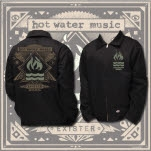 official Hot Water Music Exister Black Jacket