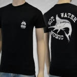 Hot Water Music Swordfish Black T-Shirt