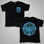 Hot Water Music Shield Black T-Shirt