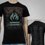 Hot Water Music Tour 2012 Black T-Shirt