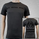 Hot Water Music Traditional Charcoal T-Shirt