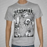 Hour Of The Wolf Flies Gray T-Shirt