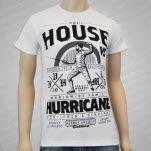 House vs Hurricane Wordwide Family White T-Shirt