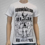 I Am Abomination Architecture White T-Shirt