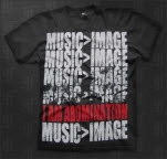 I Am Abomination Music Over Image Black T-Shirt