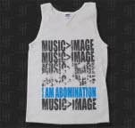 I Am Abomination Music   Image White Tank Top