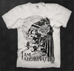 I Am Abomination Skull White T-Shirt