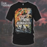 I Am Abomination Tesla Black T-Shirt