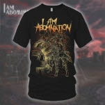 I Am Abomination The Future Black T-Shirt