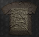 I Am Abomination Wisdom Brown T-Shirt