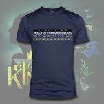 I Am King When Will You Understand Navy T-Shirt