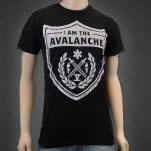I Am The Avalanche Seal Black T-Shirt