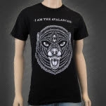 I Am The Avalanche Wolverine Black T-Shirt