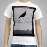 I Call Fives Bird Frame White T-Shirt