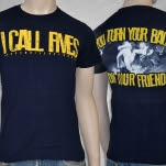 I Call Fives Friends Navy T-Shirt