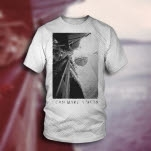 I Can Make A Mess Boat White T-Shirt