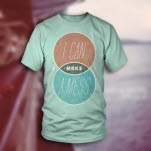 I Can Make A Mess Venn Diagram Mint T-Shirt