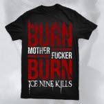 Ice Nine Kills Burn Black T-Shirt