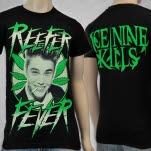 Ice Nine Kills Reefer Fever Black T-Shirt