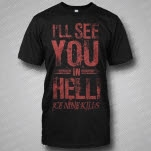 Ice Nine Kills See You In Hell Black T-Shirt