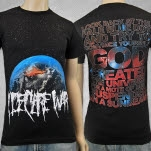 I Declare War Dot Black T-Shirt