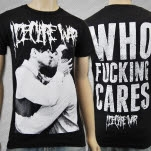 I Declare War Who Cares Black T-Shirt