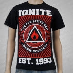 Ignite Better Days Black T-Shirt