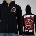 Ignite Better Days Black Hoodie Zip