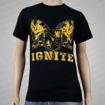 Ignite Heraldic Black T-Shirt