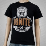 Ignite Lion Black T-Shirt