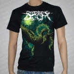 Impending Doom Angel Mask Black T-Shirt
