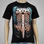 Impending Doom Ribcage Black T-Shirt