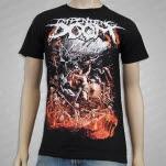 official Impending Doom Doom Clock Black T-Shirt