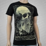 Impending Doom Death Will Reign Skull Black T-Shirt