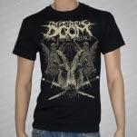 Impending Doom Goat Head Black T-Shirt