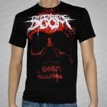 Impending Doom Giant Red Skull Black T-Shirt
