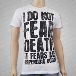 Impending Doom It Fears Me White T-Shirt