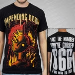 Impending Doom New Tormented Black T-Shirt