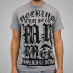 Impending Doom Rage Heather Gray T-Shirt
