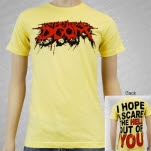 Impending Doom Scare The Hell Out Of You Yellow T-Shirt