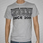 Inbred BeerCore Heather Gray T-Shirt