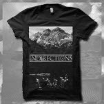 InDirections Mountains Black T-Shirt